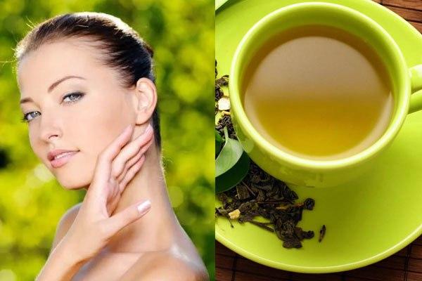 Полезные свойства зеленого чая для кожи лица