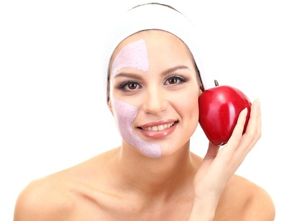 Питательная маска для лица из яблок