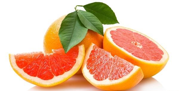 Спелый грейпфрут