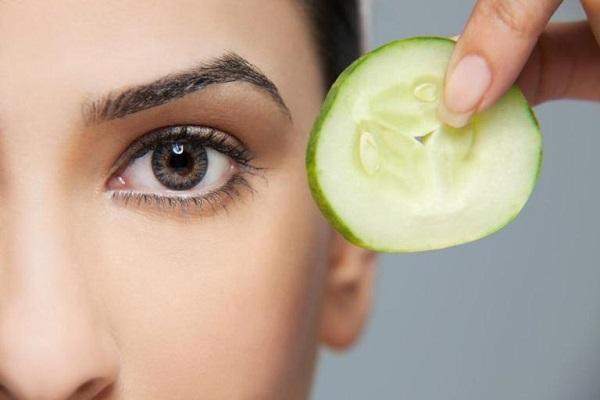 Огурец для кожи вокруг глаз