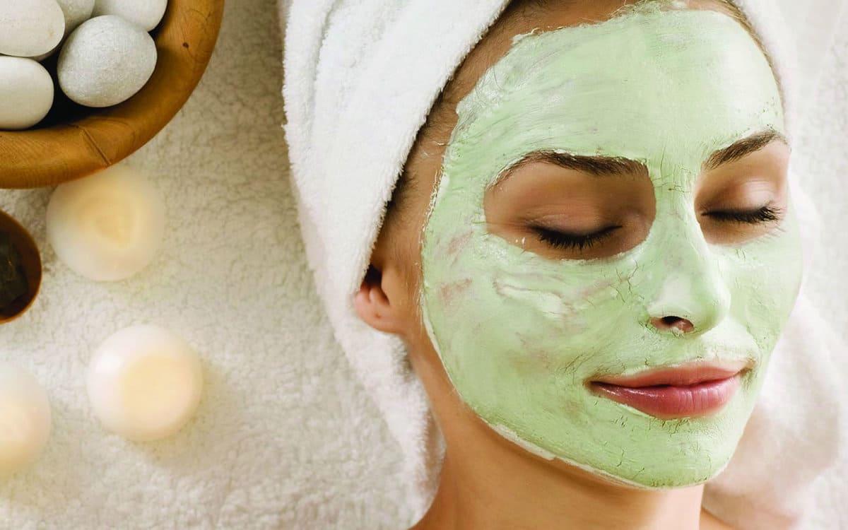 Горячая маска для лица