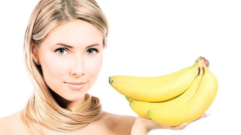 Банан для кожи лица