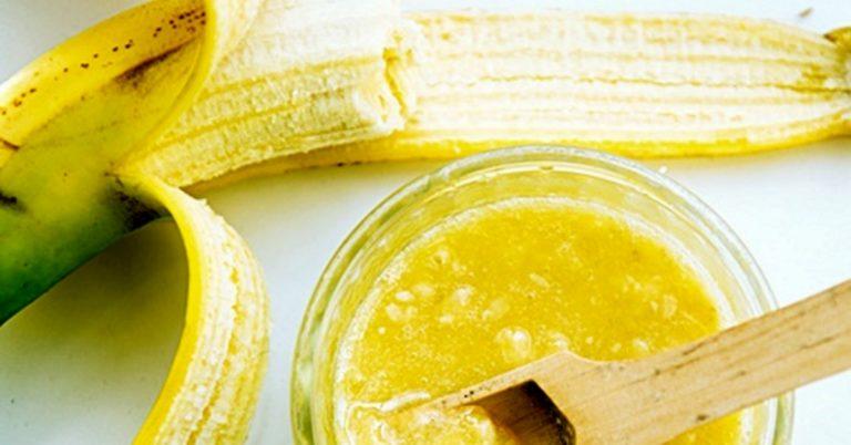 Маска для лица с бананом для жирной кожи в домашних thumbnail